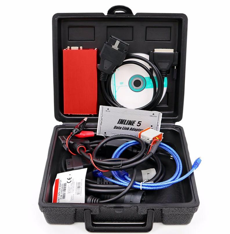 Диагностический автосканер Cummins INLINE 5 V7.62 (комплект)