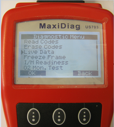 Mitsubishi-портативный автосканер MaxiDiag Autel
