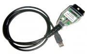 Диагностический адаптер K+DCAN USB с переключателем для а/м BMW