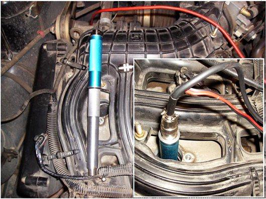 Датчик давления 7 bar с удлинителем и кабелем