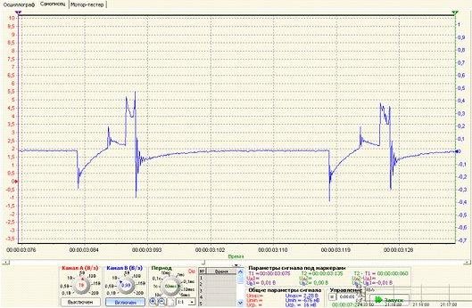 Емкостной датчик для осциллографа DISCO 2 USB