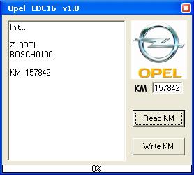 Адаптер OPEL KM Tool