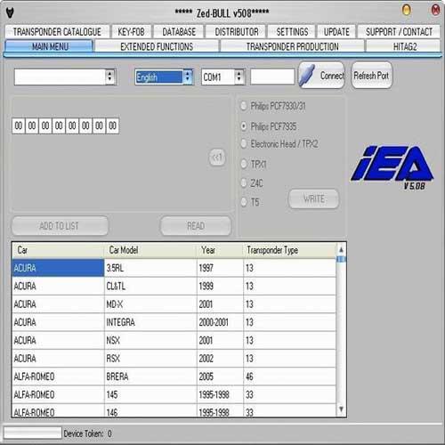 ZED-BULL key maker